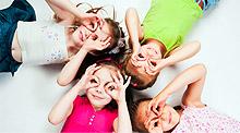 Kinder der Au Pair Agentur