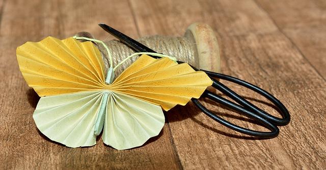 Au Pair Schmetterlinge basteln