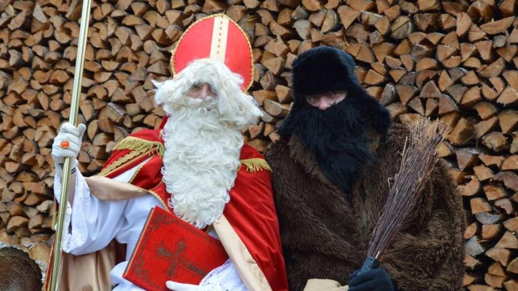 Nikolaus und Rupprecht