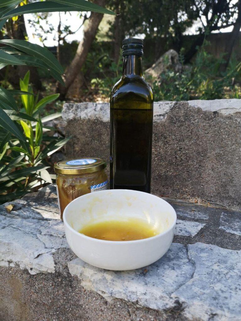 Honig-Olivenöl Haarkur für Kinder